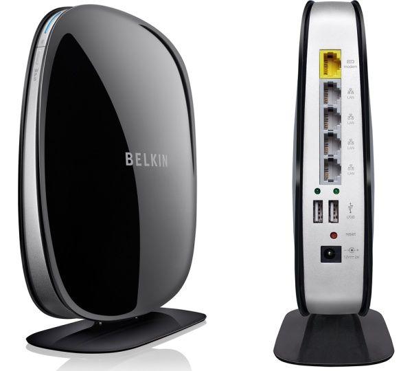 Belkin F9K1002 N300 Wireless N Router with 4 Port Switch